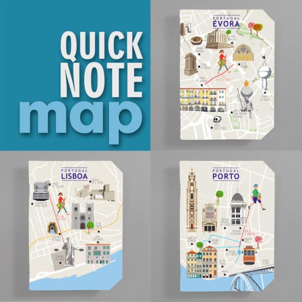 QuickNote Mapa