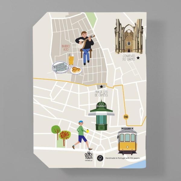 QuickNote Map – Lisboa