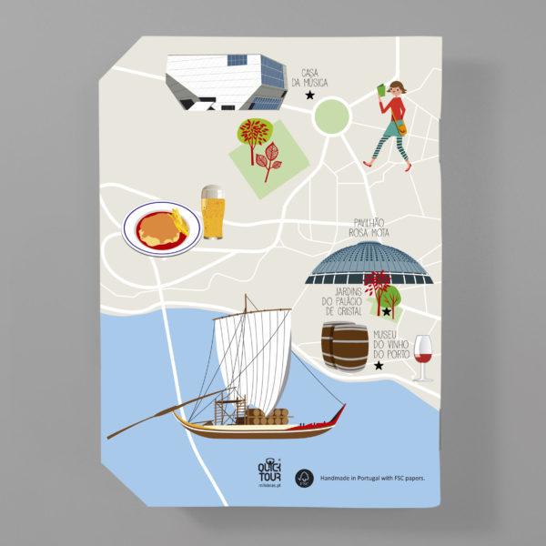 QuickNote Map – Porto
