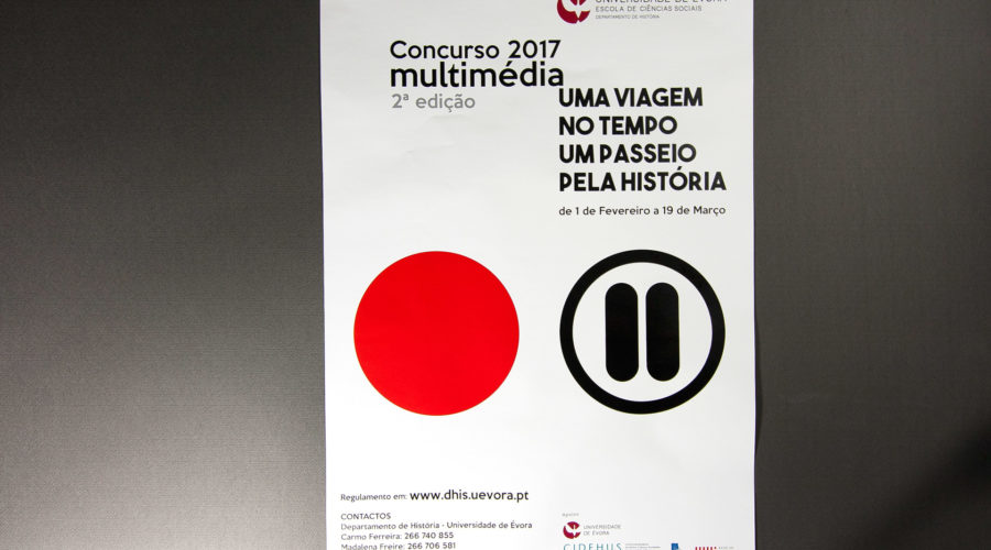 Cartaz Concurso Multimédia